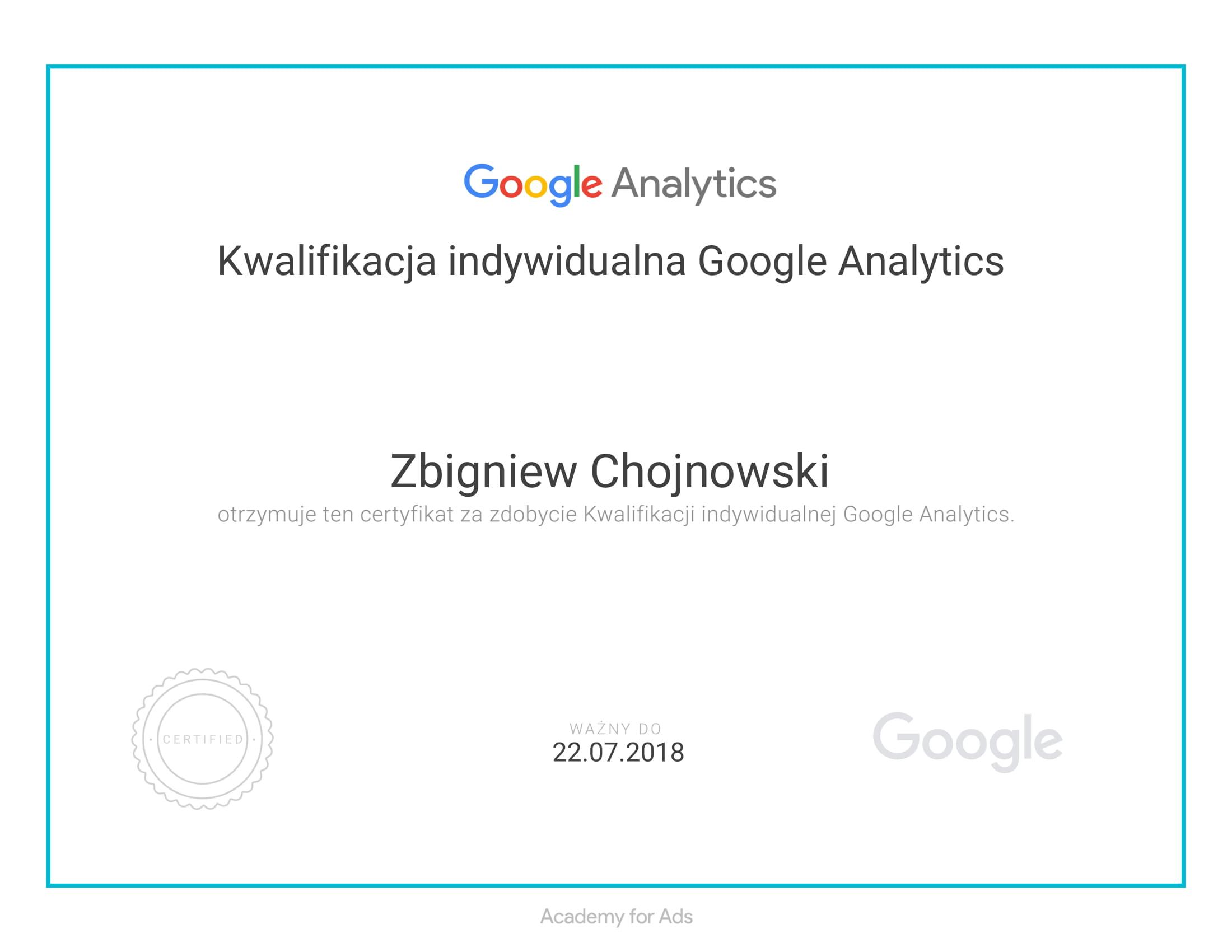 Certyfikat tworzenie stron mobilnych Google