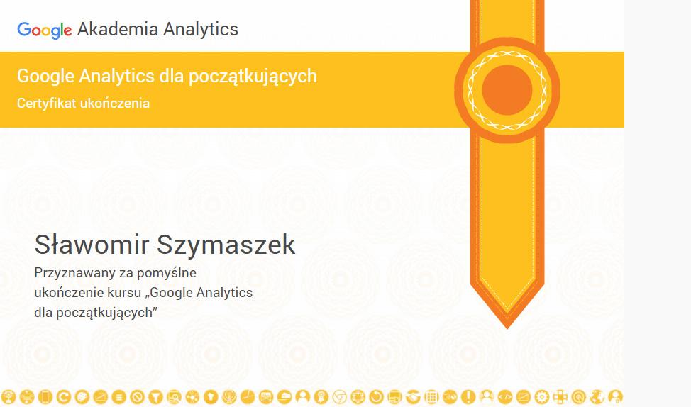 Certyfikat Analitycs dla początkujących