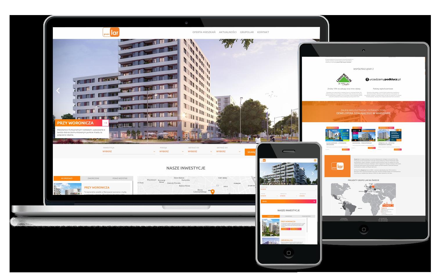 Agencja interaktywna 4dl.pl - strona dla dewelopera